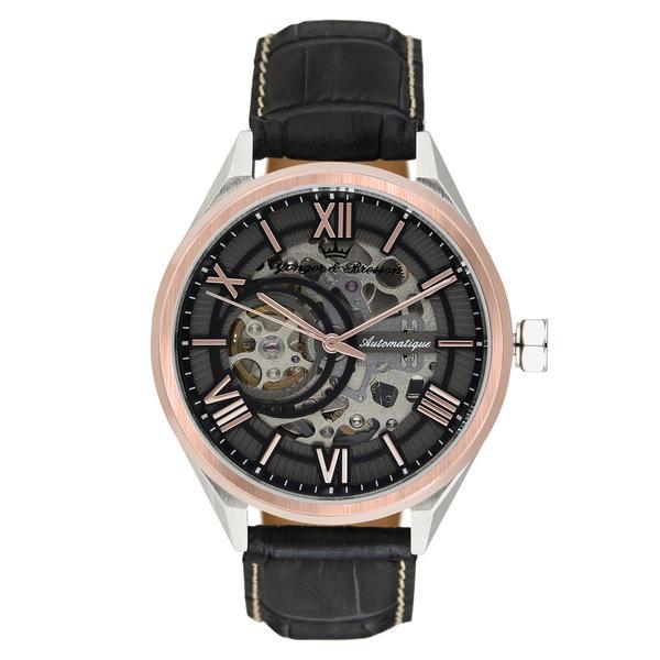 Montre automatique Yonger & Bresson Tournelles - Corail + bracelet offert (yongerbresson.com)
