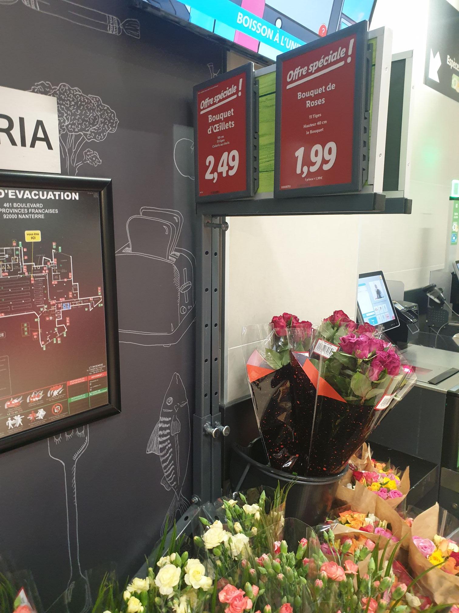 Bouquet de roses (11 Tiges) - Nanterre (92)