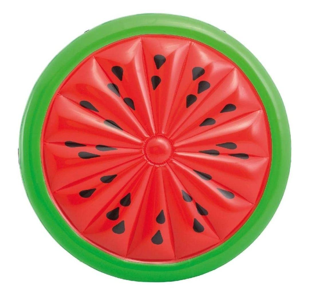 Matelas gonflable Intex forme pastèque - 183 x 23 cm (via 17,99€ sur la carte fidélité)