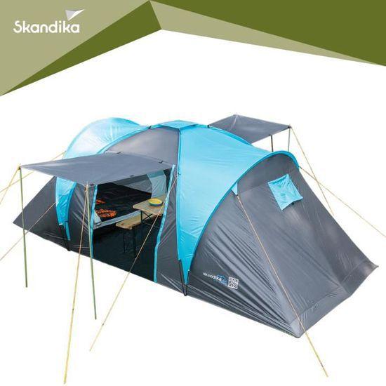 Tente de camping familiale Skandika Hammerfest 4 - 4 personnes, 500 x 220cm (vendeur tiers)