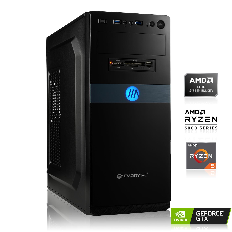 PC - AMD Ryzen 5 3500X, 6x 3,60 GHz, 16 Go de mémoire DDR4, Asus prime B450M-A II