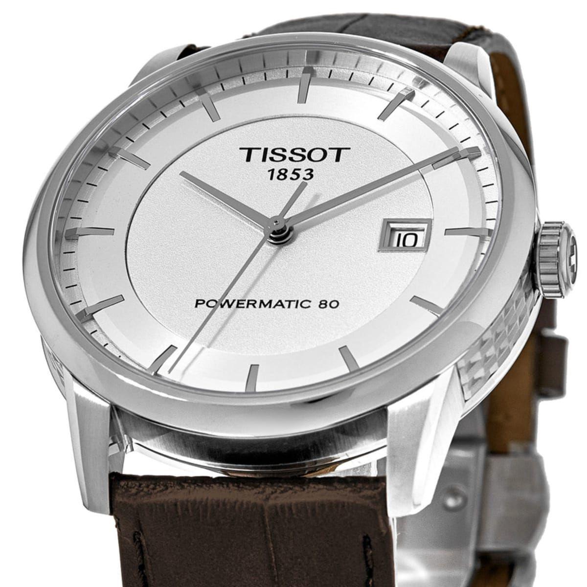 Montre automatique Tissot Luxury Powermatic 80 T0864071603100 pour Homme - 41 mm (Frais d'importation et frais de port inclus)