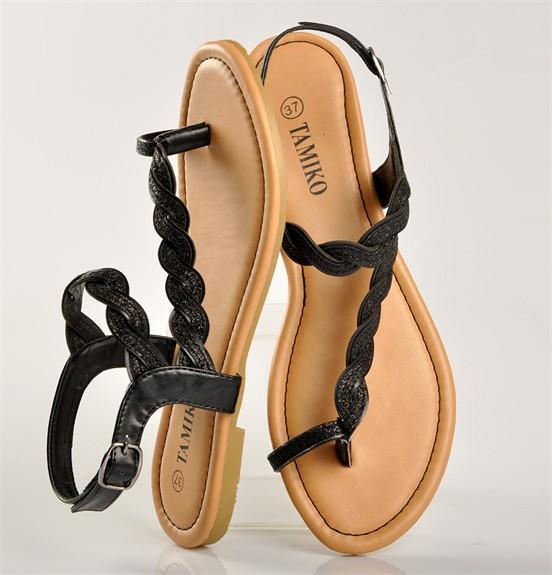 2 Paires de sandales Femme Tamiko - Plusieurs coloris