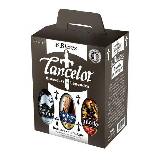 Pack de 6 bières bio Lancelot - 6 x 33cl