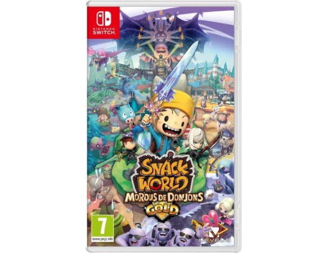 Snack World : Mordus de Donjons sur Nintendo Switch