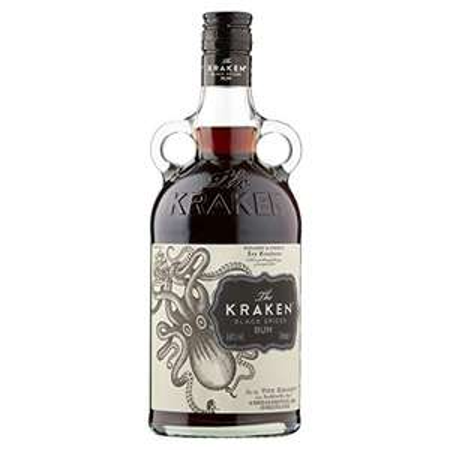 Bouteille de Rhum The Kraken Black Spiced Spirit - 70 cl