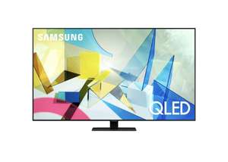 "TV 55"" Samsung QE55Q80T 2020 - QLED, 4K, Dalle 100 Hz, HDR10+, Smart TV (Frontaliers Suisse)"