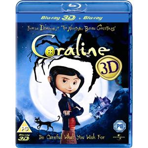 Blu-ray 3D Coraline (+ Blu-ray 2D)