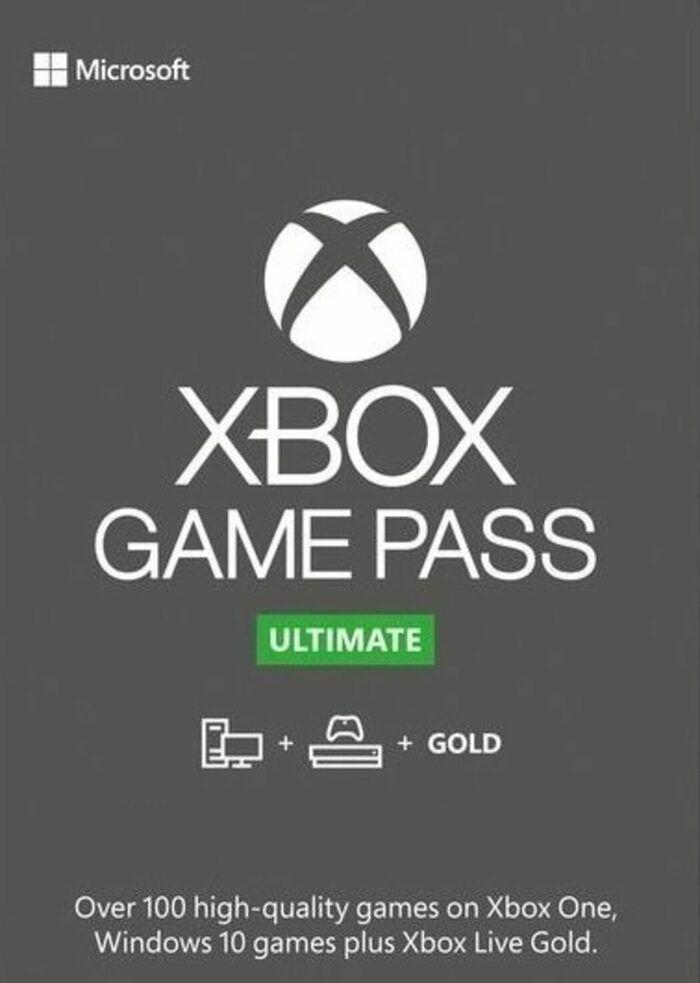 Abonnement au Xbox Game Pass Ultimate - 175 jours d'abonnement - 25× 7 Jours (Dématérialisé, frais de service inclus)