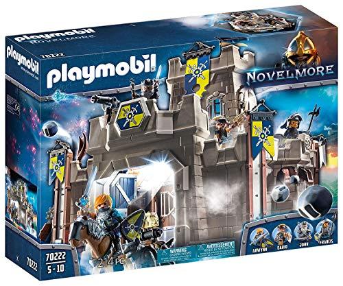 Jouet Playmobil - La Citadelle des Chevaliers Novelmore (70222)