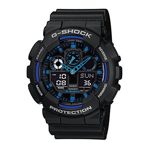 Montre Casio G-Shock GA-100-1A2ER avec Bracelet en Résine