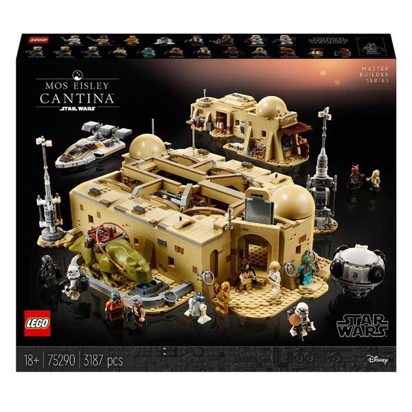 Sélection de sets Lego Star Wars en promotion - Ex: Set Lego La Cantine de Mos Eisley Star Wars 75290