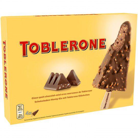 Boite de 4 Glaces chocolat-miel Toblerone