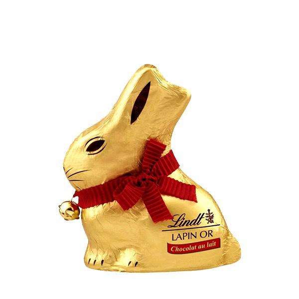 30% de réduction sur une sélection de chocolats - Ex: Lapin Or au chocolat au lait 100g (lindt.fr)