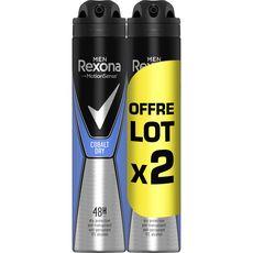 Lot de 2 Déodorants Rexona