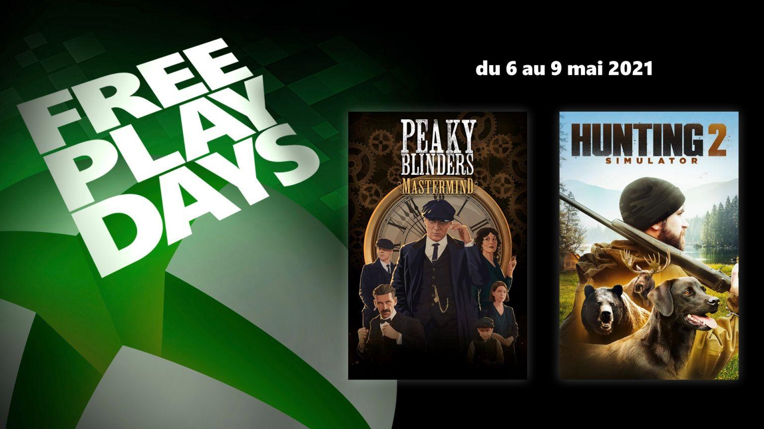 Peaky Blinders: Mastermind & Hunting Simulator 2 jouables gratuitement ce week-end sur Xbox (Dématérialisé)