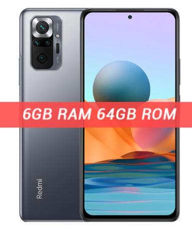 """Smartphone 6.67"""" Xiaomi Redmi Note 10 Pro - 64 Go"""