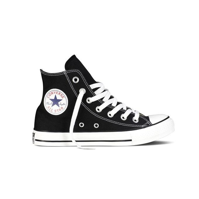 Chaussures Converse Chuck Taylor all star hi canvas noir