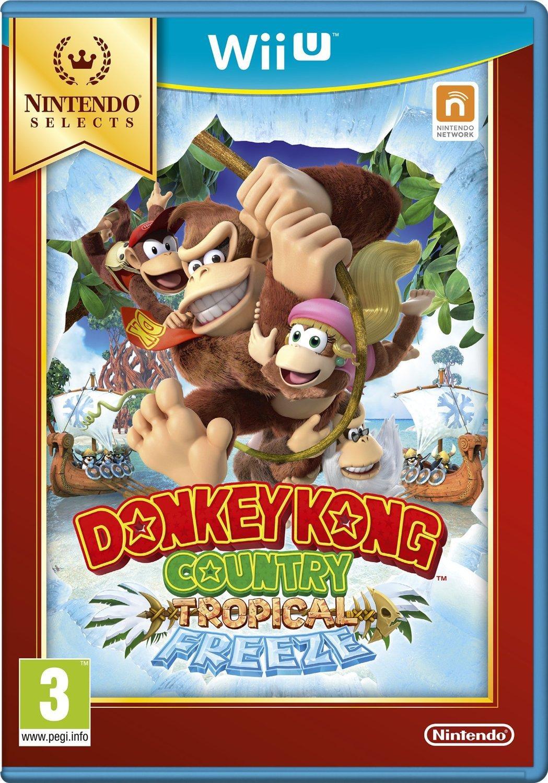 [Précommande] Sélection de Jeux Wii U Selects - Ex : Donkey Kong Country : Tropical Freeze