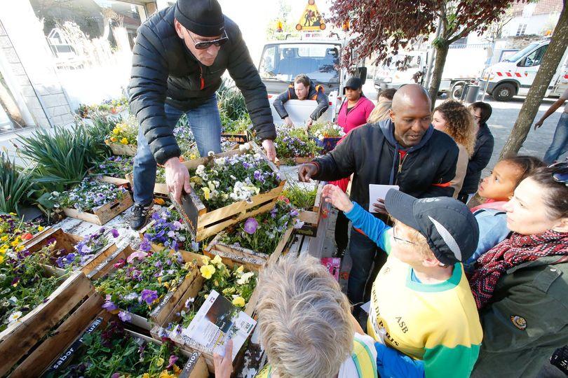 Distribution gratuite de fleurs et de bulbes - Bonneuil-sur-marne (94)