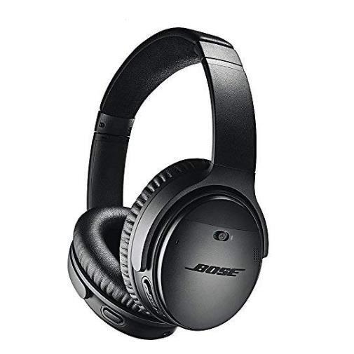 Casque sans-fil avec Suppression de bruit Bose QuietComfort 35 II - Noir (Vendeur tiers)