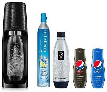 Pack Machine Sodastream Spirit Pepsi