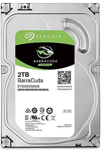 "DIsque dur interne 3.5"" Seagate Barracuda (ST2000DMZ08) - 2 To, 7200RPM, SATA 6GB/S"