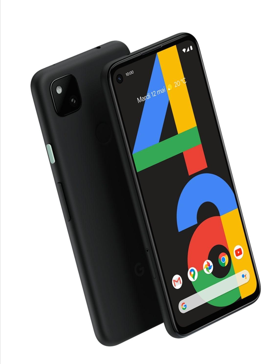 "Smartphone 5,8"" Google Pixel 4A 4G - 128 Go, 6 Go RAM (Pixel A4 5G à 449€)"