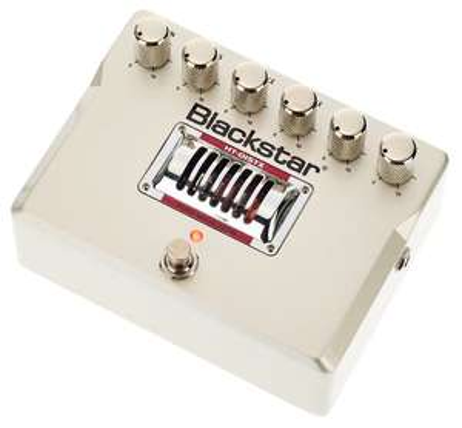 Pédales de distorsion à lampe pour guitare électrique Blackstar HT DistX à 128 € (HT Dual à 148 €)