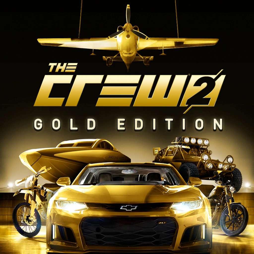 The Crew 2 - Édition Gold sur PS4 (Dématérialisé)