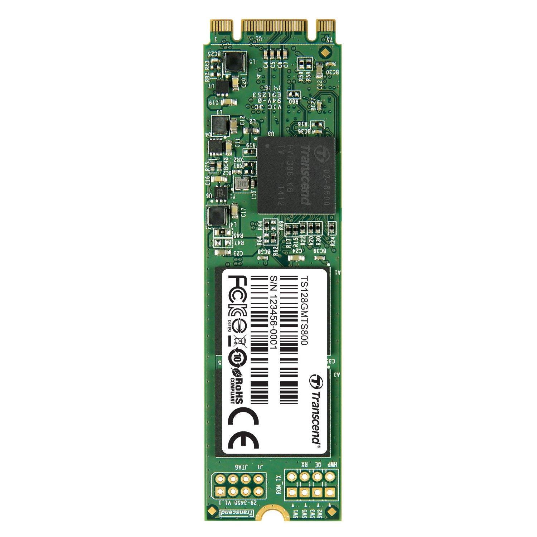 SSD M.2 Transcend MTS800 (ou MTS600) SATA III, MLC - 128 Go