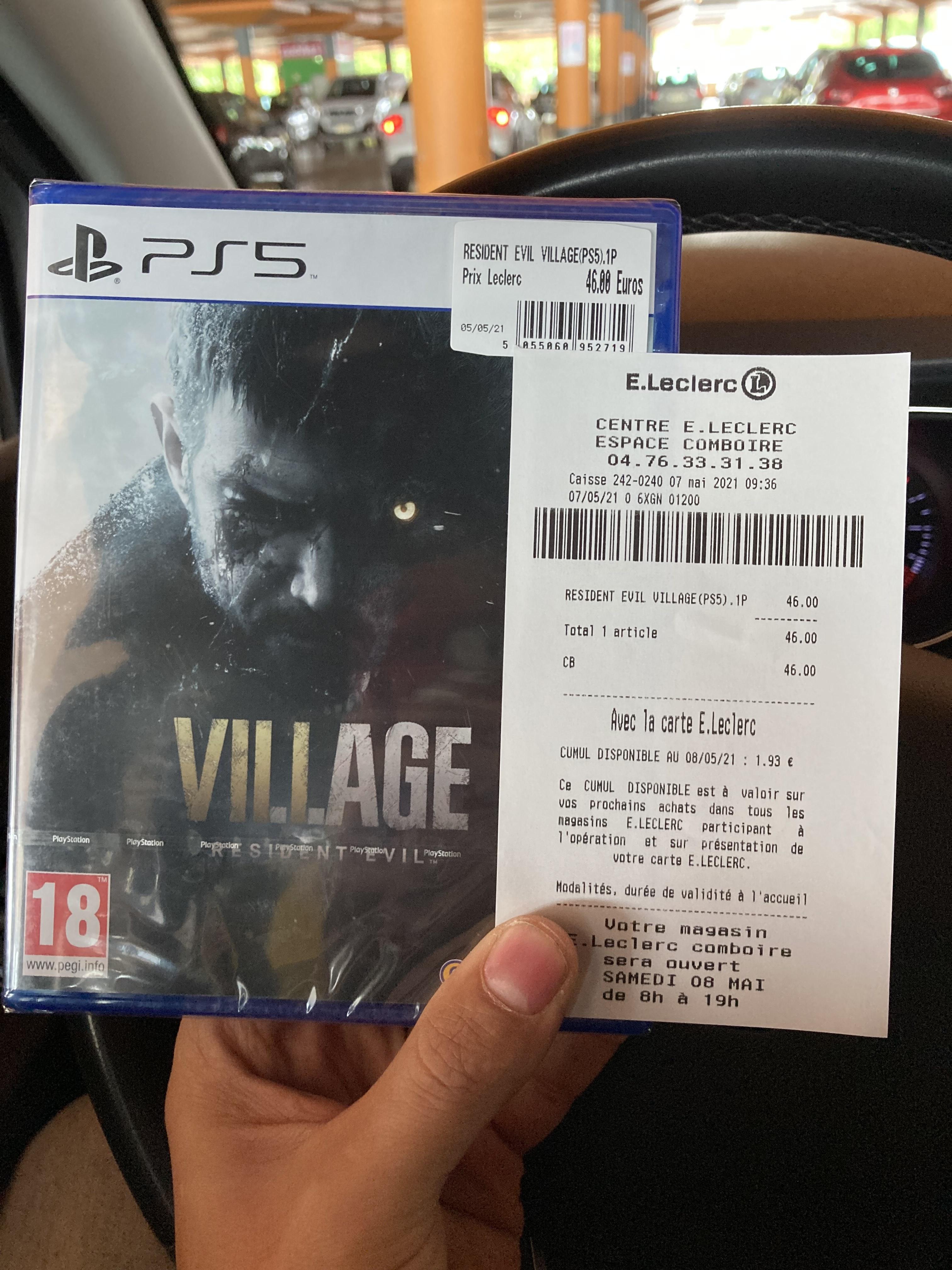 Resident Evil village sur PS4, PS5 et Xbox One, Series