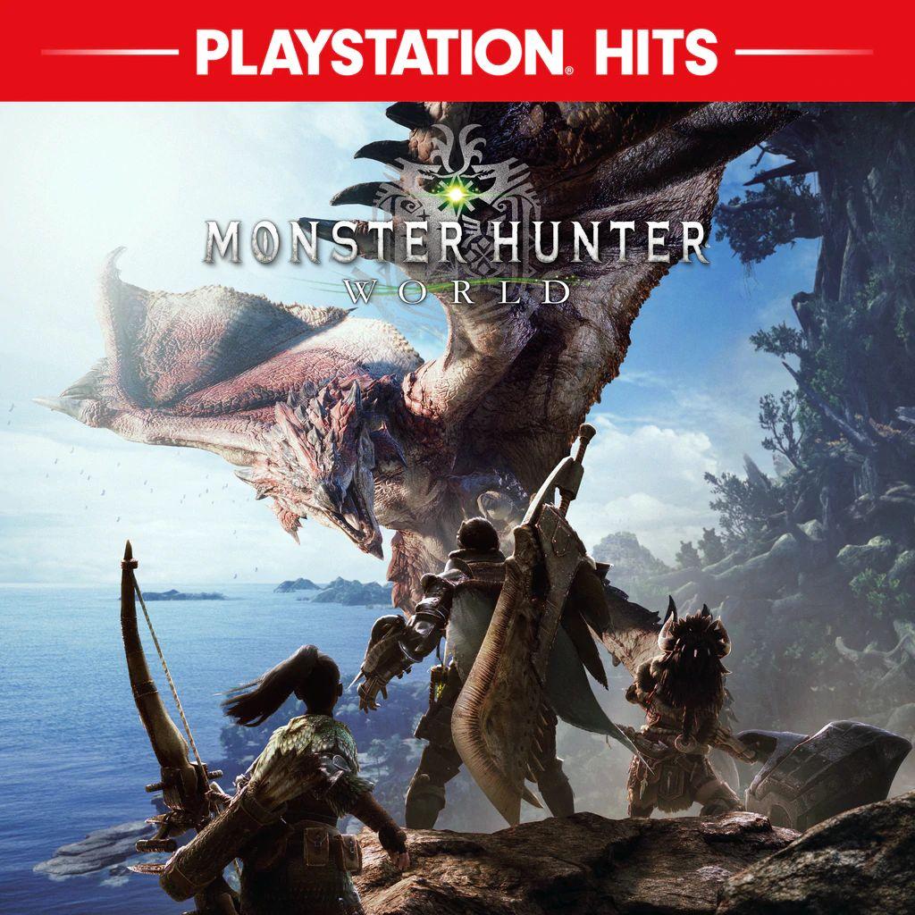 Monster Hunter World sur PS4 (Dématérialisé, store turc)