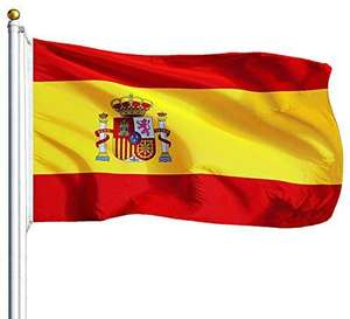 Lot de 2 drapeaux de l'Espagne 150x90cm (Vendeur Tiers)