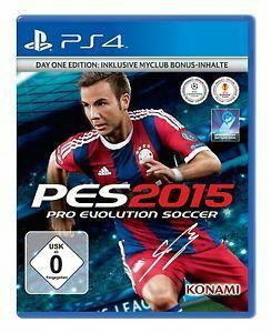 PES 2015 édition day one sur PS4 et Xbox One