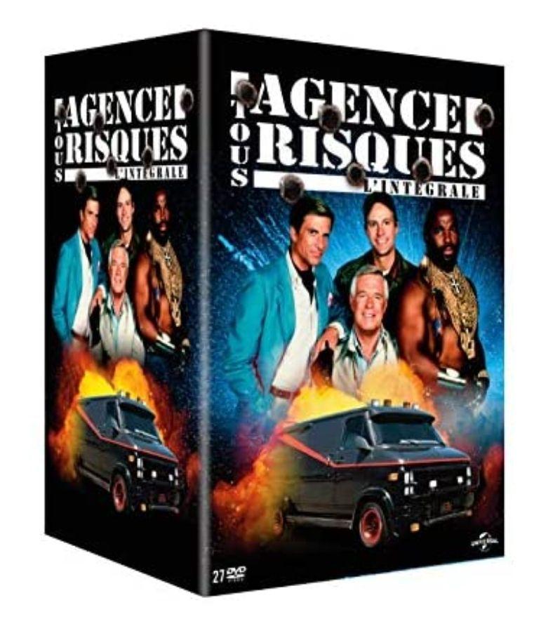 Coffret DVD L'Agence Tous Risques - L'intégrale