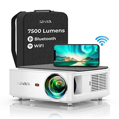 Vidéoprojecteur Yaber V6 - 1080p, 7500 Lumens, WiFi, Bluetooth (Vendeur tiers)
