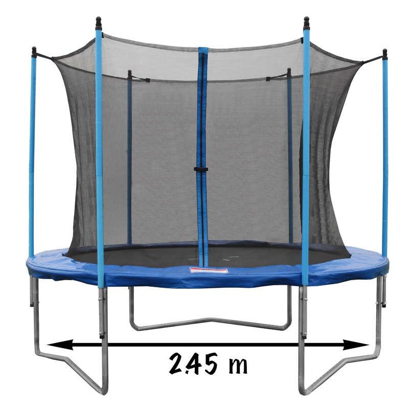 Trampoline avec filet de protection (Via 35.7€ sur la carte fidélité) - 2,45m (Gap - 05)