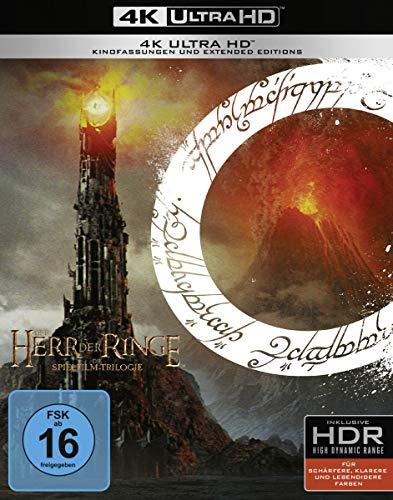 Coffret Blu-Ray 4K Le Seigneur des Anneaux - La trilogie (version longue - VF)