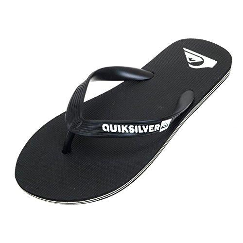 Claquettes Quiksilver Molokai-Flip-Flops - Noir (Taille 39 au 47)