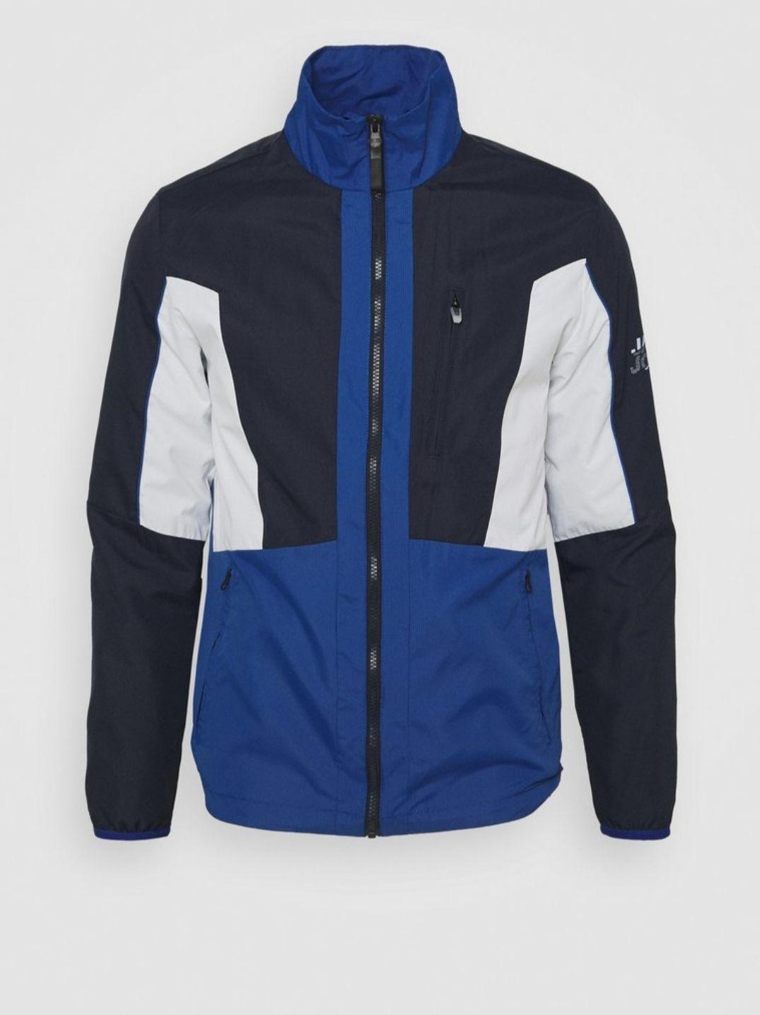 Veste mi-saison Jack & jones Jcocarson Light Jacket Collar - bleu marine