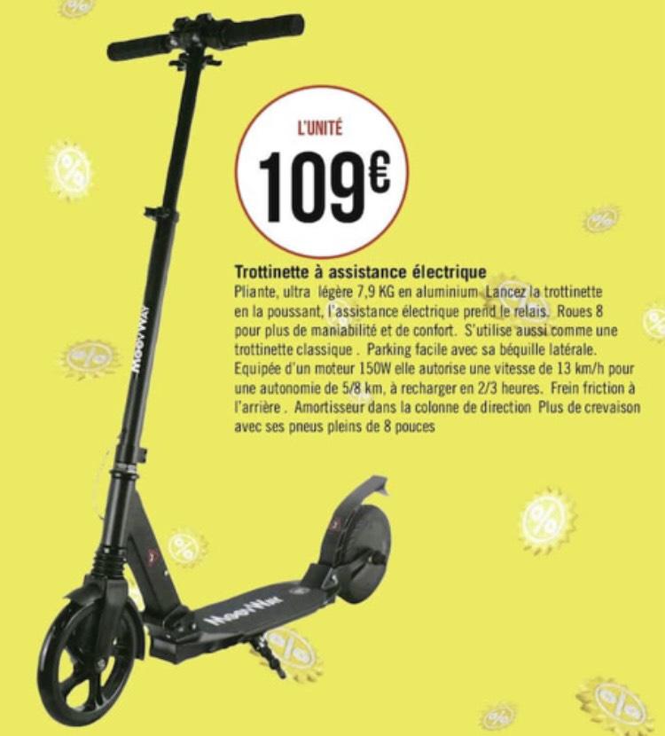 """Trottinette électrique 8"""" Moovway - 150W"""
