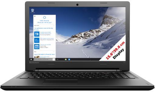 """Sélection de PC en promotion - Ex: PC portable 15.6"""" Lenovo Ideapad 100-15IBD 80QQ (i3-5020U 2,20 GHz, 500Go, 4 GB de RAM)"""
