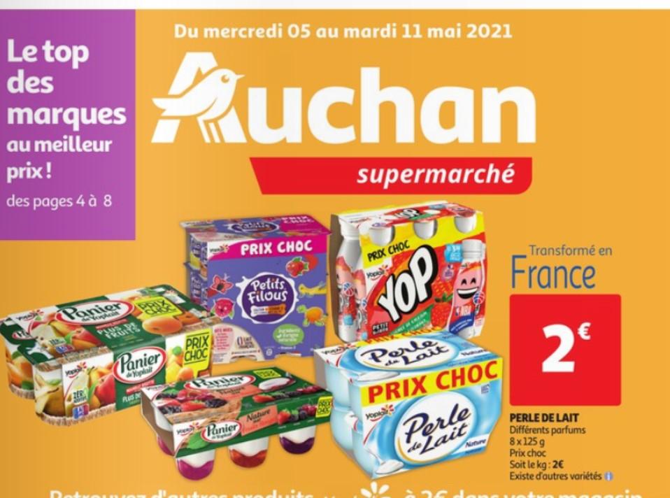 Sélection de produits Yoplait à 2€ - Ex : Paquet de 8 yaourt Yoplait Perle de Lait (8 x 125g)
