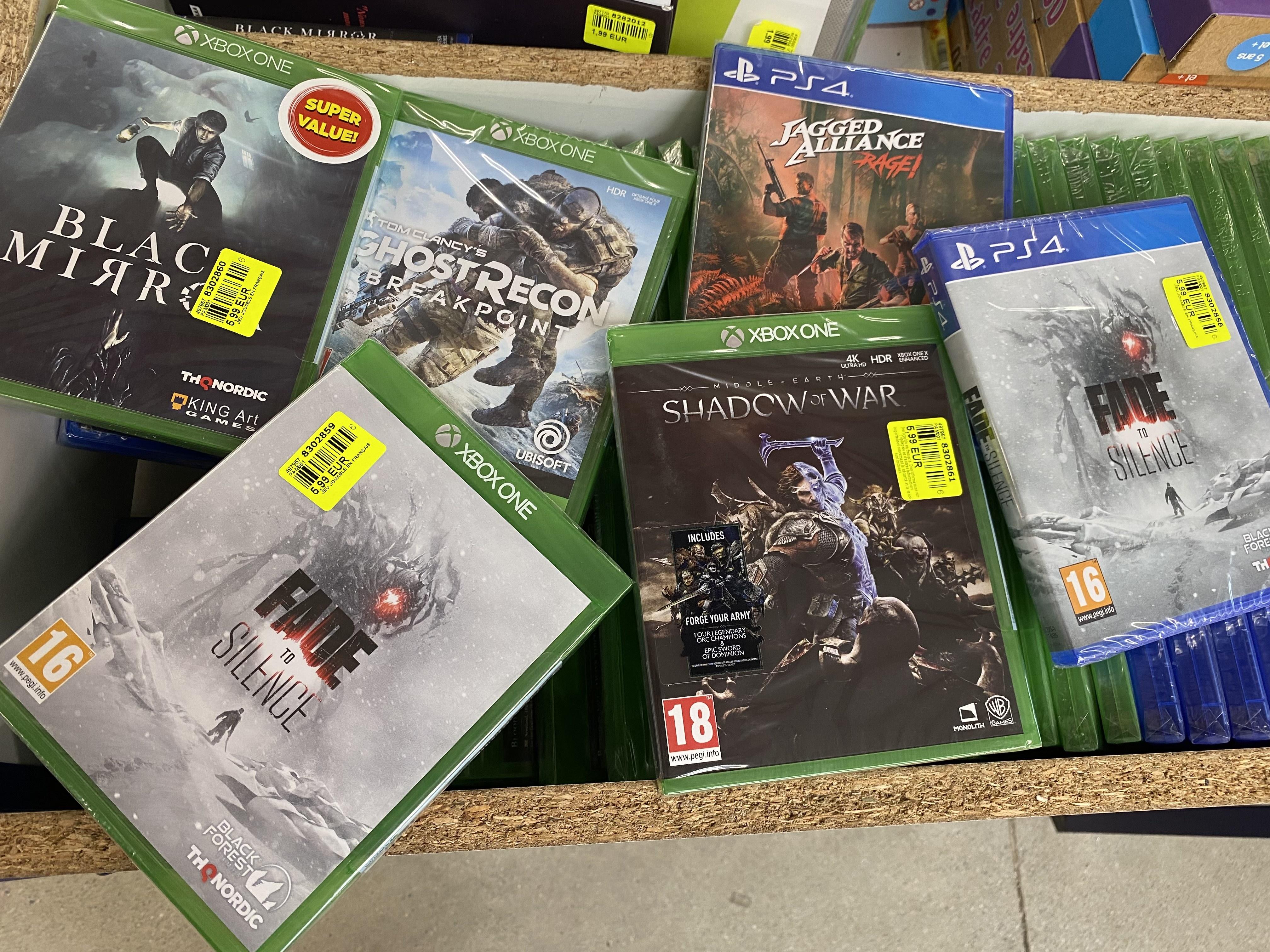 Sélection de jeux en promotion - Le Seigneur des Anneaux Shadow of War sur Xbox One ou PS4