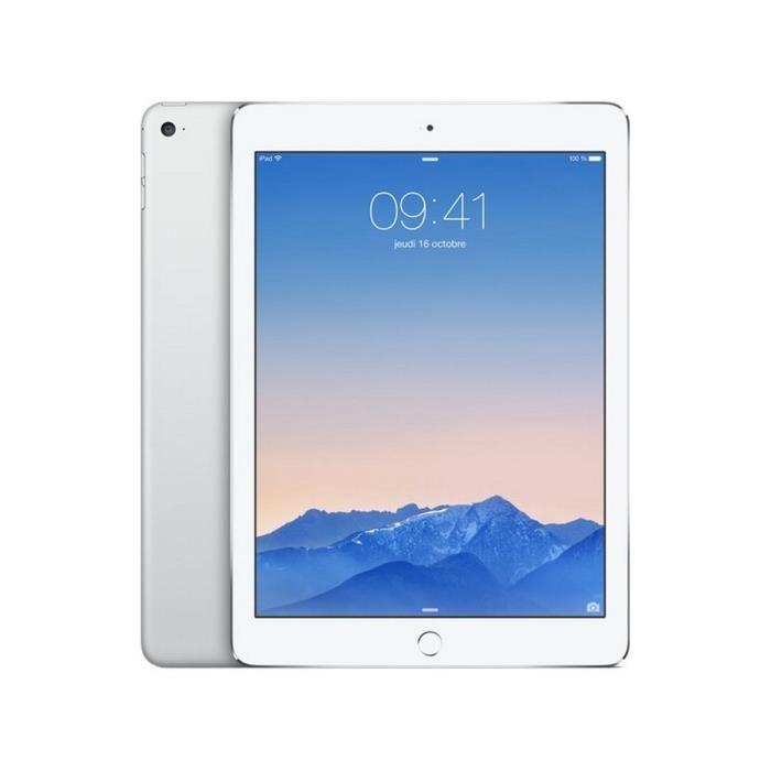 """Tablette 9.7"""" Apple iPad Air 2 Wi-Fi 16Go - Argent (+ bon d'achat de 88 euros)"""