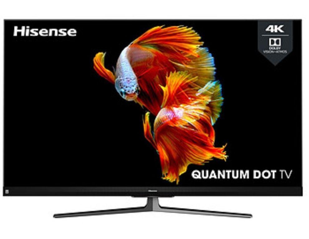 """TV 55"""" Hisense 55U8QF - 4K UHD, HDR, QLED, Smart TV, Local Dimming Pro, barre de son JBL intégrée (via ODR 200€)"""