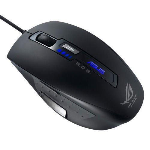 Souris filaire Gaming Asus GX850 USB Noir