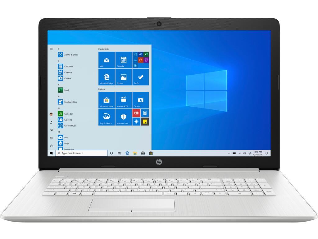 "PC Portable 17"" HP 17-CA1046NF - FHD IPS, Ryzen 5 3500U, 8 Go de RAM, 512 Go SSD, Radeon Vega 8"