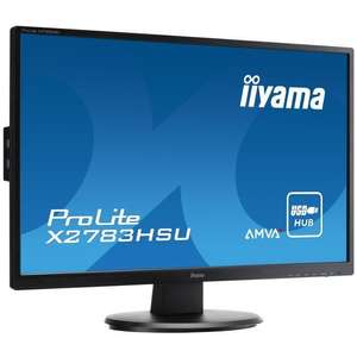 "Ecran PC 27"" iiYama ProLite X2783HSU-B1 - Full HD"